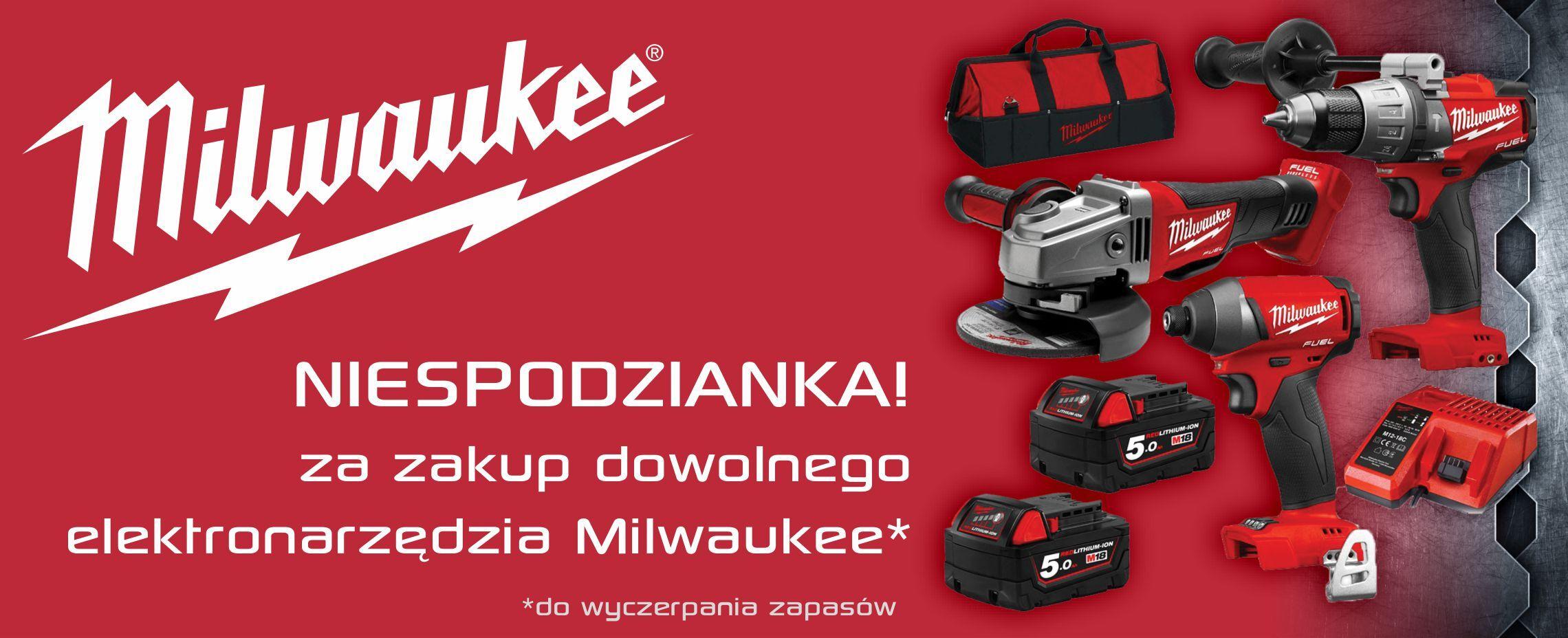 Milwaukee - oferta promocyjna. Hurtownia Elektryczna elektryk-sklep.pl