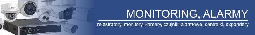 Monitoringi i alarmy. Osprzęt alarmowy PPOŻ. Moduły GMS GPRS antenki i pozostałe