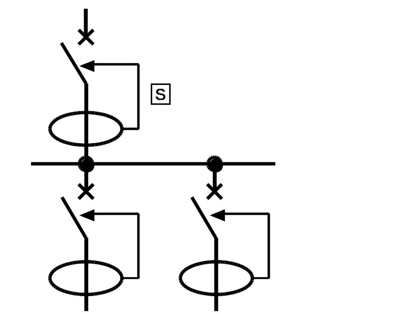 zabezpieczenia różnicoprądowe połączone szeregowo rys 3